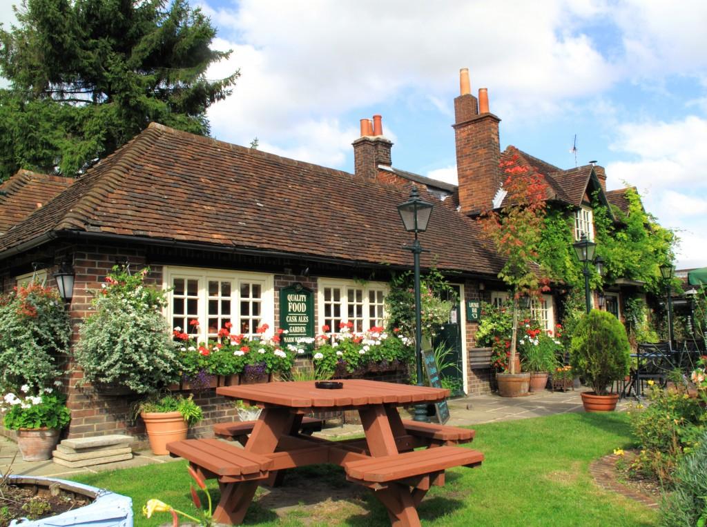 Village Pub Garden